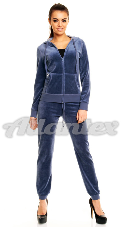 b63603d7eda0d4 Dres welurowy damski, duże rozmiary - Dresy24.com