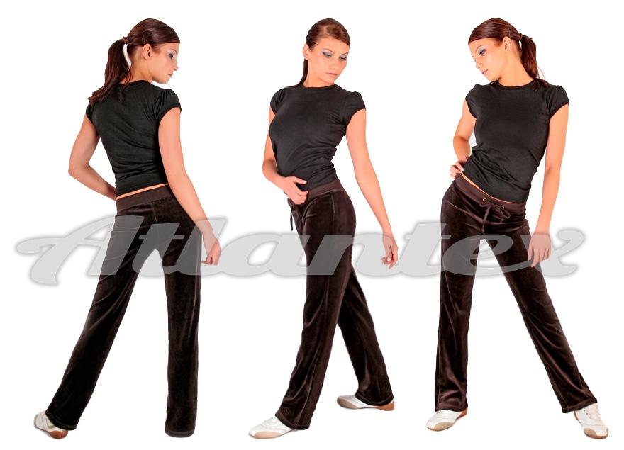 Spodnie-dresowe-damskie-braz